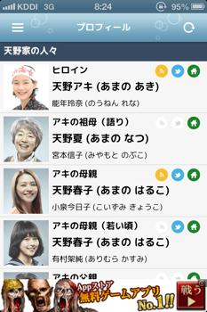 あまちゃん出演者プロフィール  mini