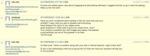 【WordPressブログ運営者のみなさんへの質問】よく届く英語のコメントってどうしてます?