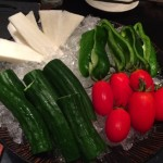 【銀座3丁目】大人が足しげく通うであろう「響」のお通しの生野菜が美味しかった