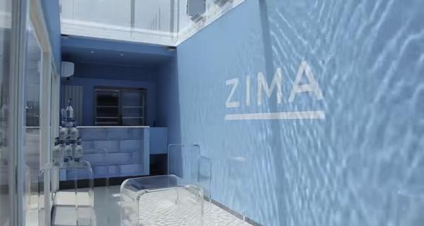 豊洲マジックビーチのZIMA LOVE Simpale BAR