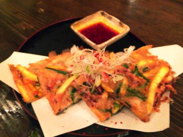 渋谷の三十五段屋で食べる炙り〆サバ
