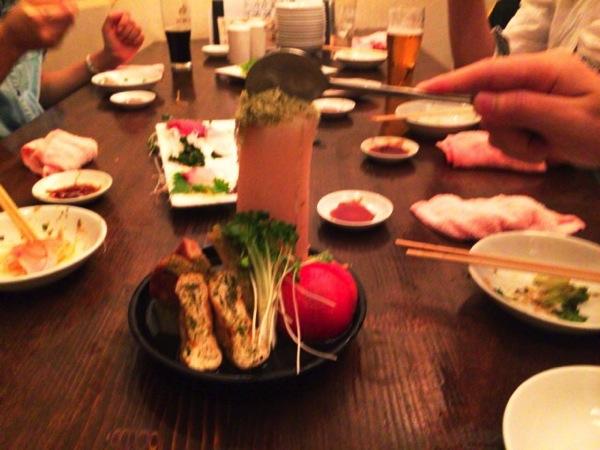 渋谷の炙りサバ「三十五段屋」