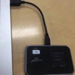 【ノマド朗報】ワイモバイルWiFiルーターの充電ケーブルでNexus7も充電できる #めっちゃイーモバイル