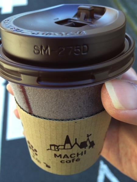 ローソンで購入したamazon商品を受け取るとコーヒーがもらえる