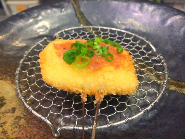 【西新宿】ボキャブラ、くりぃむしちゅーのANN好きは「串揚げ&焼酎バー 嵯峨根家(さがねや)」に絶対行くべき