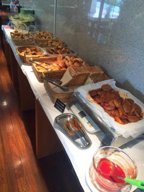 ホテルヴィラフォンテーヌ茅場町には朝ごはんでパン食べ放題