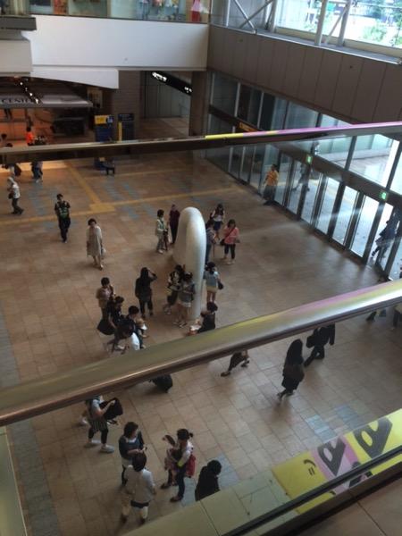 JR札幌駅のビルから見える風景