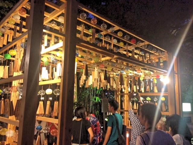 川越氷川神社の入り口。駅から徒歩15分くらい