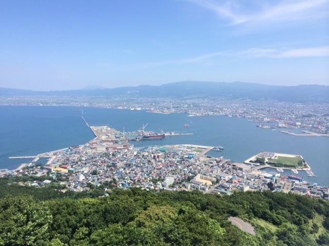 函館山展望台から見える景色