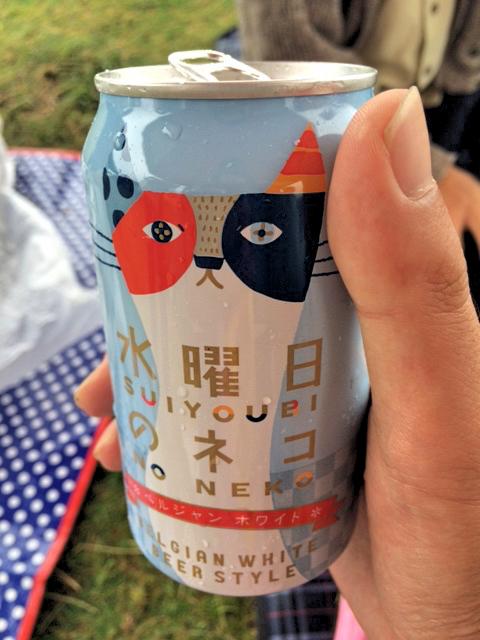 ホワイトビール「水曜日のネコ」