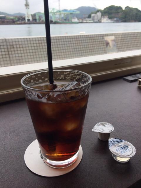 尾道の電源カフェ「フルール」のコーヒー