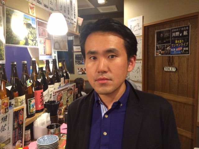 京都に家族(奥さん、子供)と移住した奥田さん