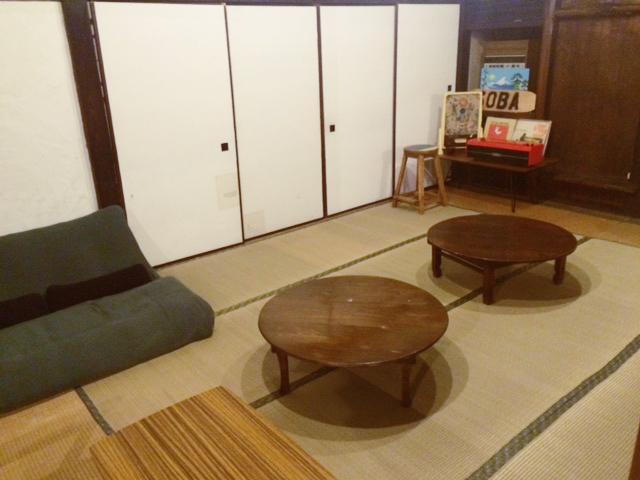 金谷ゲストハウスのくつろぎスペース