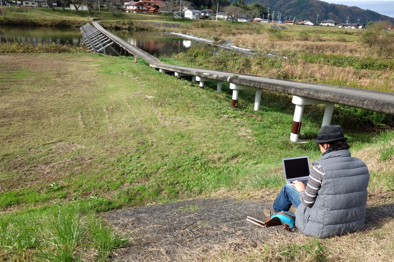 島根にUターンで戻ってきたデザイナーの日野さん