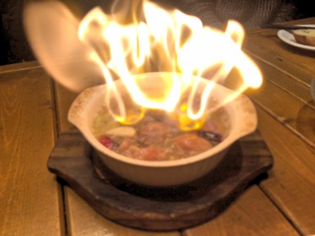 「バル克ッ」の美味しいアヒージョ