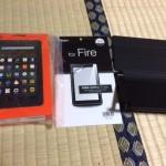 タブレット「Kindle Fire 8GB」を購入したのでレビュー!アプリ、通信料、ネット閲覧できる?などの疑問に答えとく