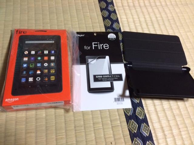 amazon kindle fireタブレットはコスパの良い商品