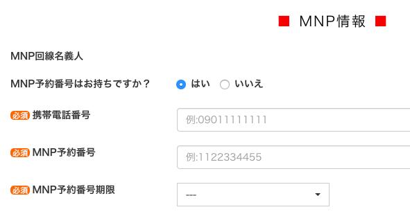 mnpの本人確認書類も配送先で見せればOK