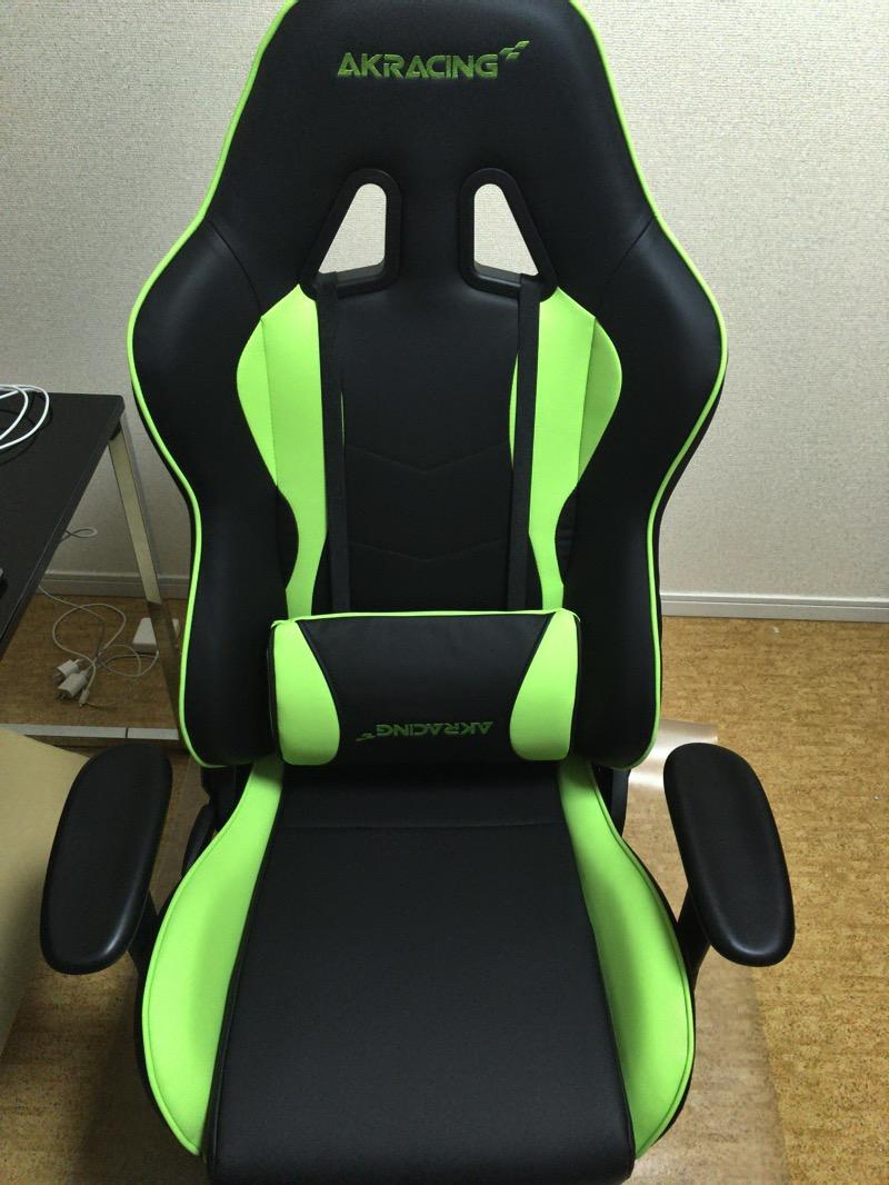 椅子の完成図